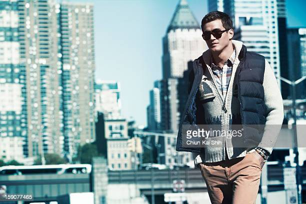 Olympic swimmer Nathan Adrian is photographed for August Man on December 1 2012 in New York City