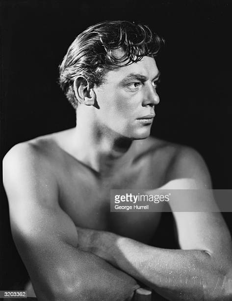 Olympic swimming champion and Hollywood actor Johnny Weissmuller