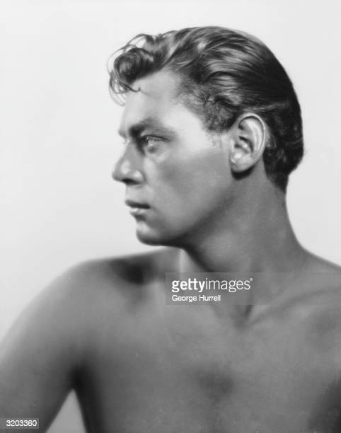 Olympic swimming champion and Hollywood actor Johnny Weissmuller the screen's most famous Tarzan