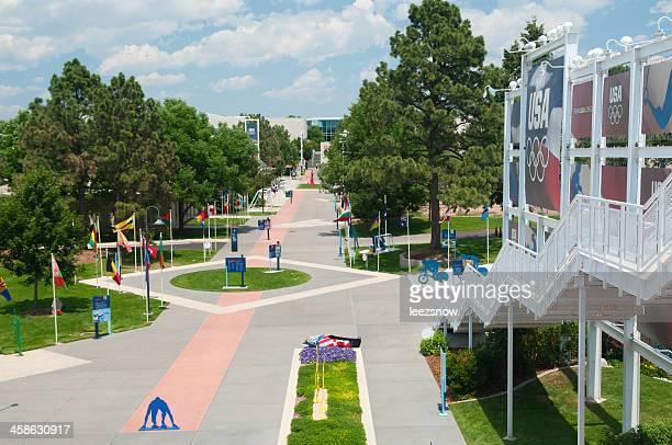 u.s. centro de treino olímpico fundamentos - training grounds imagens e fotografias de stock