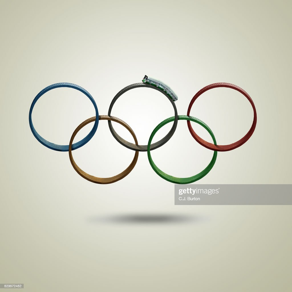 Olympic transit : Stock Photo
