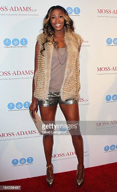 Olympic volleyball player Kim Glass attends the 'All AboardLA's Fashion Platform' fashion show hosted by Melissa Rivers at Union Station on October...