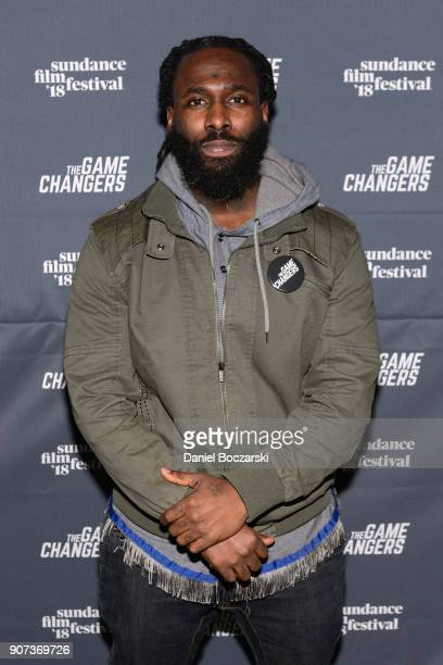 Olympic Weightlifter Kendrick Farris attends 'The Game Changers' Sundance Premiere After Party on January 19 2018 in Park City Utah