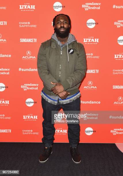 Olympic Weightlifter Kendrick Farris attends 'The Game Changers' Premiere during the 2018 Sundance Film Festival at The Ray on January 19 2018 in...