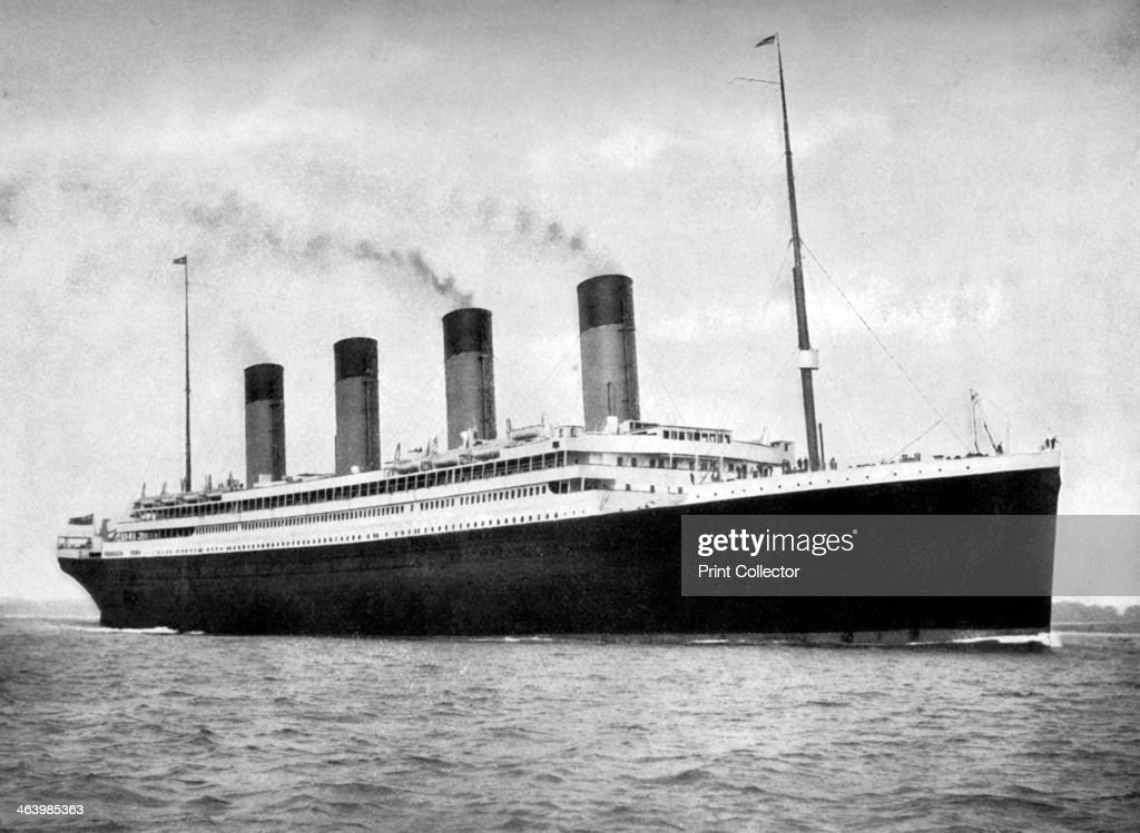 RMS 'Olympic', White Star Line ocean liner, 1911-1912.Artist: FGO Stuart : Foto di attualità