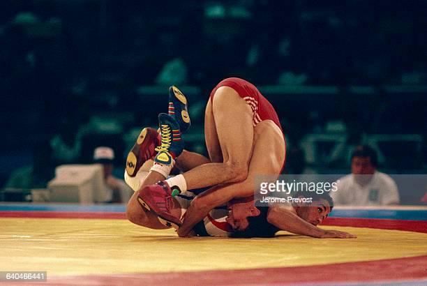 Olympic Wrestlers Yalovz and Stoyanov
