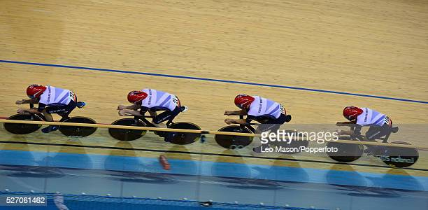Headline Olympics CyclingMen's Team Pursuit Final Team GBR Edward Clancy Geraint Thomas Steven Burke Peter Kennaugh