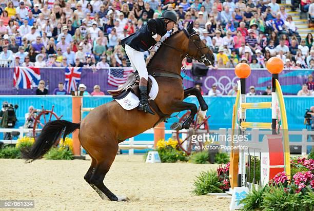 Olympics Headline Olympics EquestrianJumping Individual Final Round A Nick Skelton GBR/Big Star