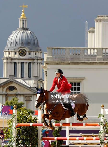 Headline Olympics EquestrianJumping Team Round 2 Rich Fellers/Flexible USA