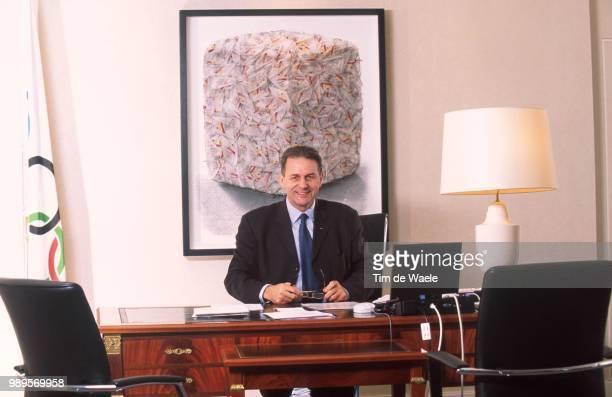 Jacques Rogge In Lausanneinternational Olympic Committee Comite International Olympique Internationaal Olympisch Komtitee Ioc Cio