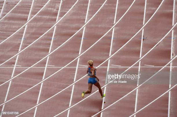 Athleticsillustration Illustratie Track Piste Antonina Krivoshapka / Women 400M Men 400M Hurdles Athletisme Atletiek London Olympic Games Jeux...