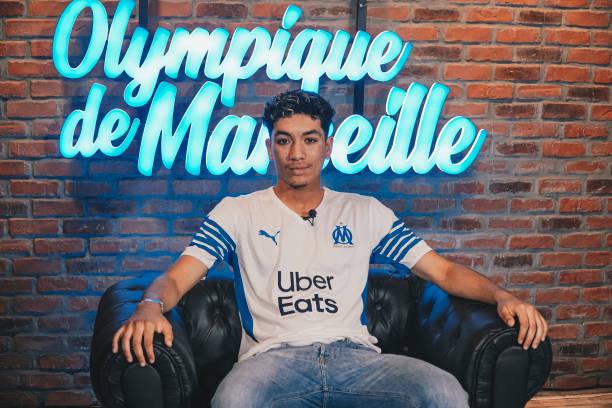 FRA: Olympique de Marseille Unveil New Signing Bilal Nadir Seghir