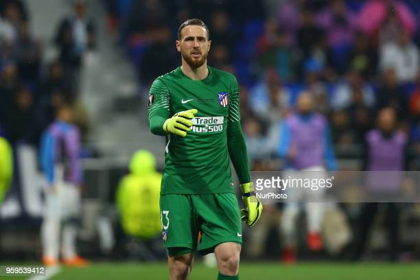 Olympique de Marseille v Atletico de Madrid Uefa Europa League Final Jan Oblak of Atletico at Groupama Stadium in Lyon France on May 16 2018