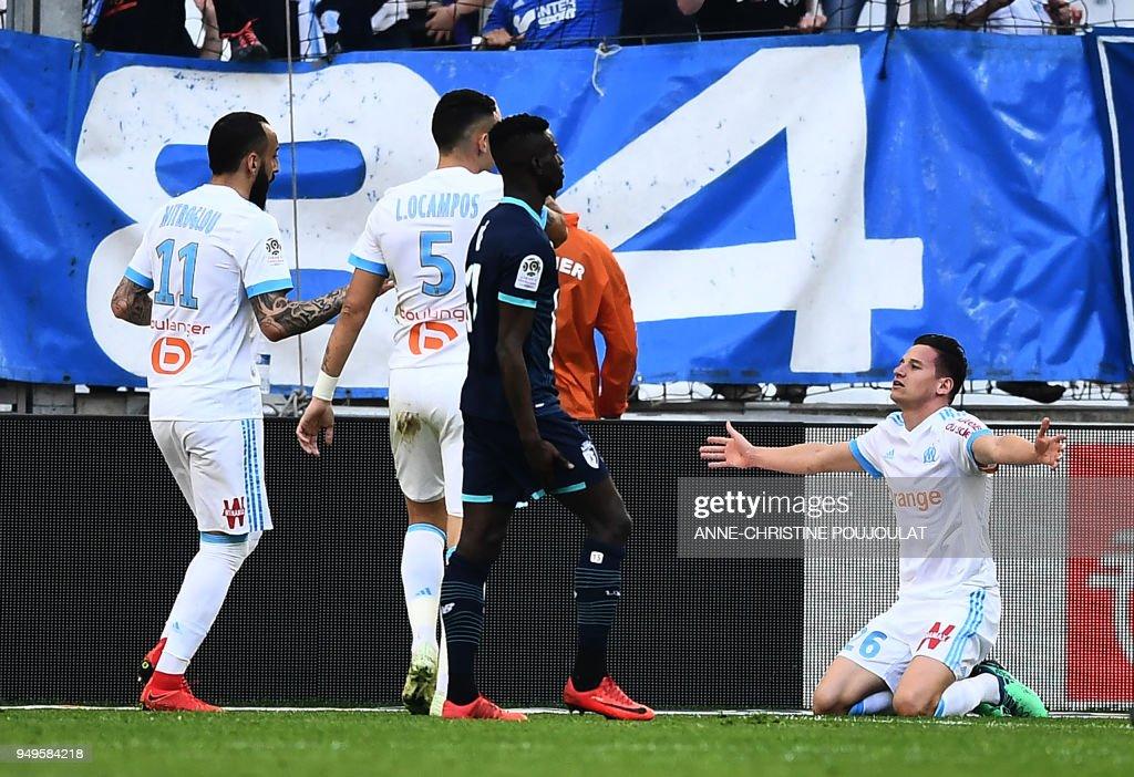 Olympique Marseille v Lille OSC - Ligue 1