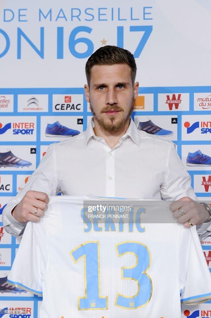 Camiseta Olympique de Marseille Grégory SERTIC