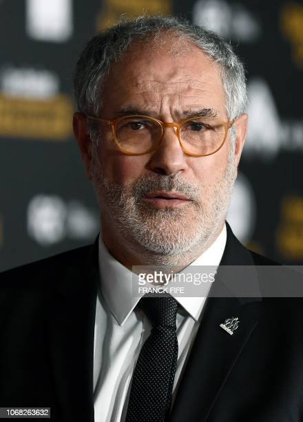 Olympique de Marseille's Spanish sport manager Andoni Zubizarreta poses upon arrival for the 2018 Ballon d'Or award ceremony at the Grand Palais in...
