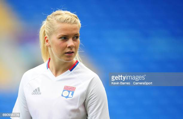 Olympique Lyonnais' Ada Hegerberg during the UEFA Women's Champions League Final Pre match training session at the Cardiff City Stadium on May 31...