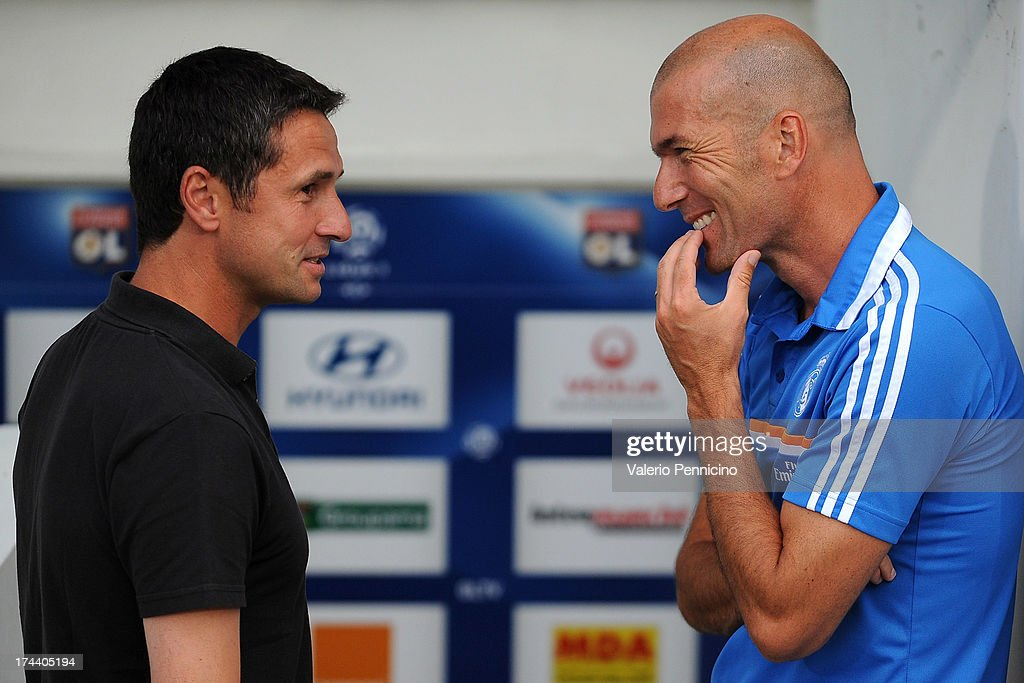 Olympique Lyonnais v Real Madrid - Pre-Season Friendly : News Photo
