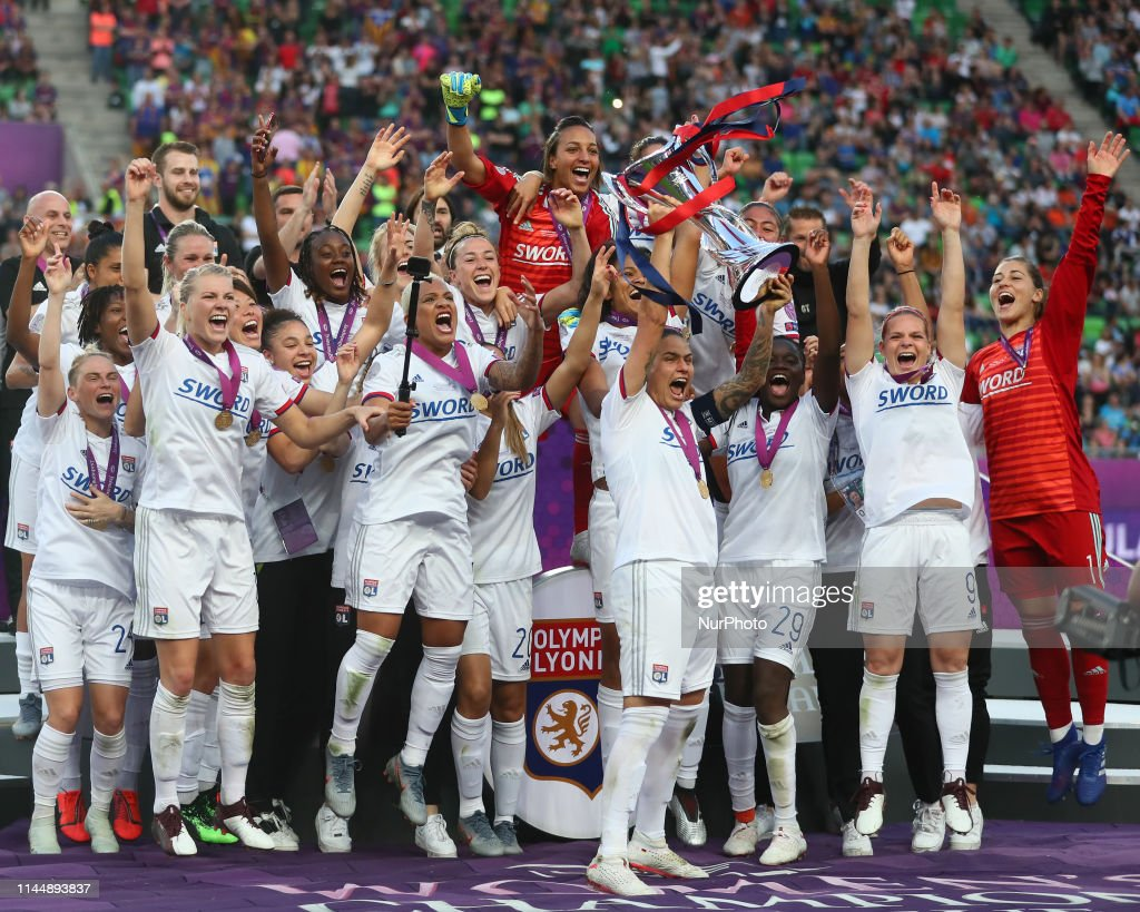 Olympique Lyonnais v FC Barcelona Women - UEFA Women's Champions League Final : News Photo