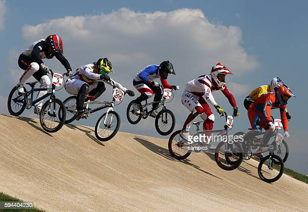 Olympische Sommerspiele 2012 London : Rad BMX Männer BMX Track Olympic Summer Games 2012 London : cycling BMX men