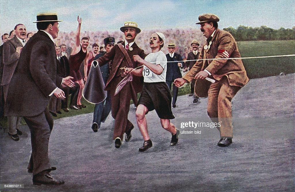 Olympische Spiele Marathon