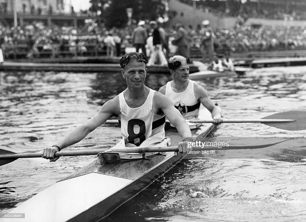 Olympische Spiele 1936 In Berlin Zweier Kajak 10000m Maenner Die News Photo Getty Images