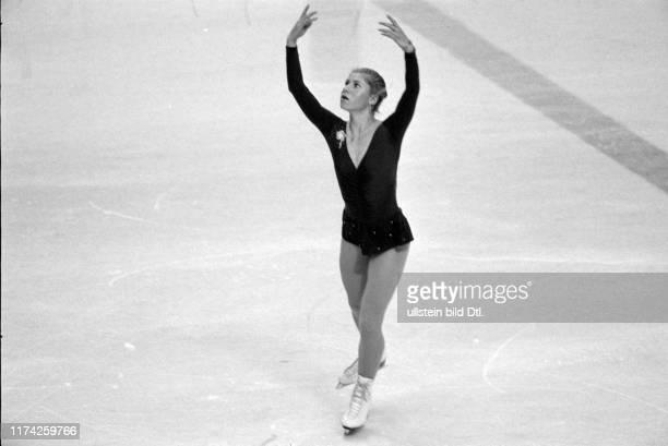 Olympische Spiele Lake Placid 1980 Eiskunstlauf Kür Denise Biellmann