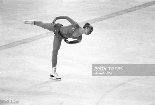 Olympische Spiele Lake Placid 1980, Eiskunstlauf Kür: Denise Biellmann