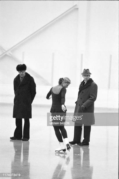 Olympische Spiele Lake Placid 1980, Eiskunstlauf Pflicht: Denise Biellmann