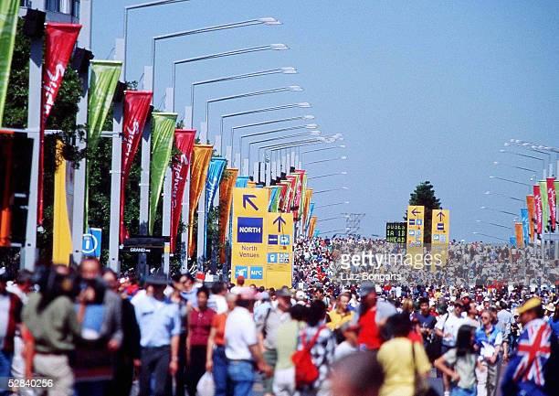 Olympische Spiele Sydney 2000 Sydney OLYMPIC PARC ZUSCHAUER