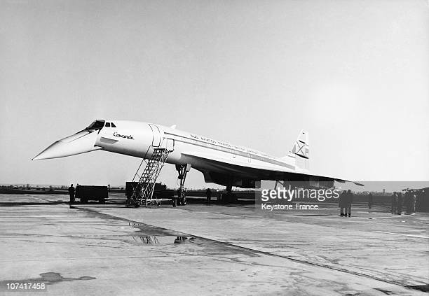Olympus Reactor Tested With Concorde 001 Supersonic Airliner In France On February 5Th 1968