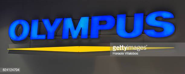 Olympus stand in Photokina 2014 in Cologne Germany 18 September 2014 Photokina the world's leading imaging fair brings together the industry trade...