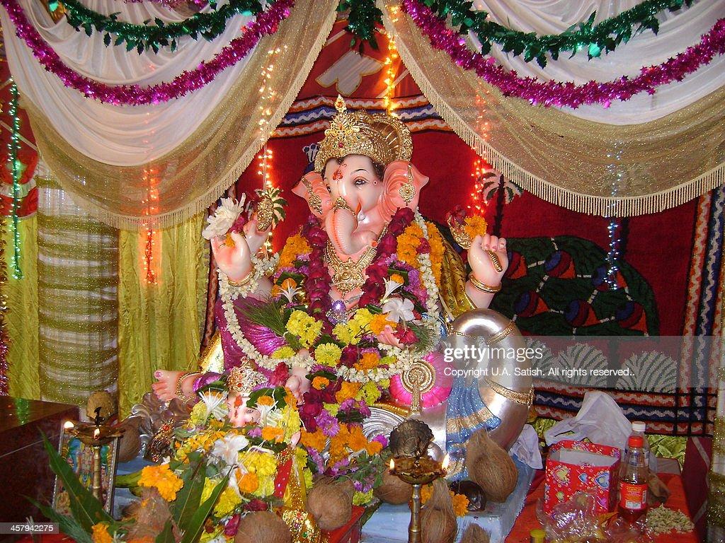 Om Maha Ganapataye Namaha! : Stock Photo