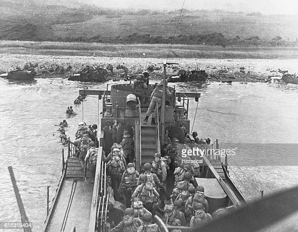 Omaha Beach landings DDay the Normandy Invasion June 6 1944