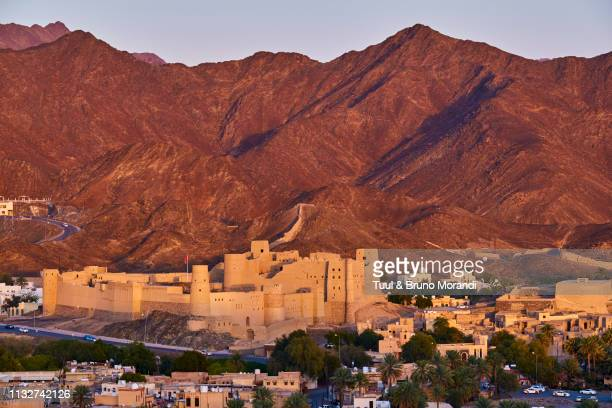 oman, ad-dakhiliyah region, bahla fort - gulf countries stock pictures, royalty-free photos & images