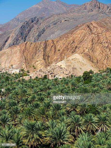 Oman, Ad-Dhakiliya, Al Hajar al Gharbi Mountains, mountain village Birkat al Mawz