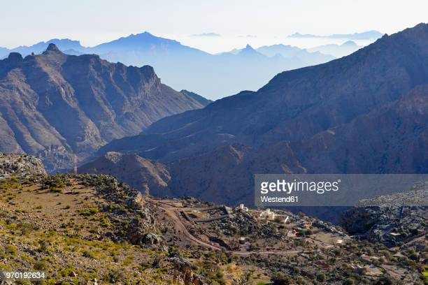 Oman, Al Hajar al Gharbi mountains