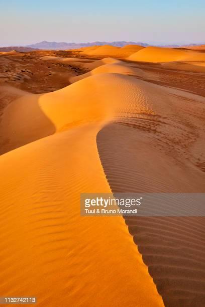 oman, al sharqiya region, wahiba sands desert - image stock pictures, royalty-free photos & images