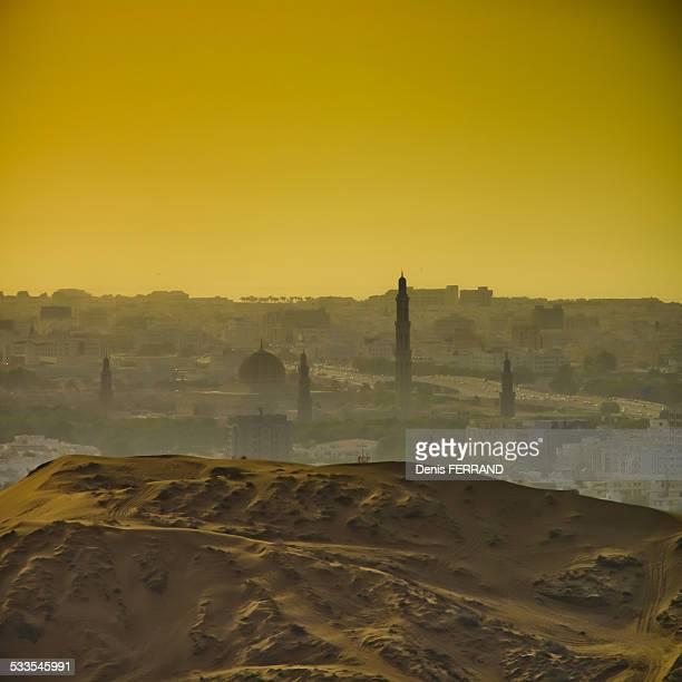 Oman Dunes over Muscat