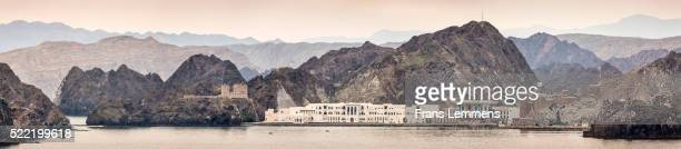oman, muscat, palace of sultan qaboos - image stock pictures, royalty-free photos & images