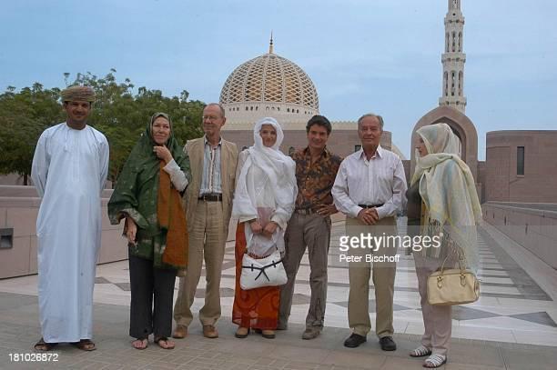 Johanna von Koczian Horst Naumann Pascal Breuer Tanja Wedhorn Hans Peter Korff Gaby Dohm Omaner Dreharbeiten der ZDFReihe Traumschiff Folge 49 Oman...