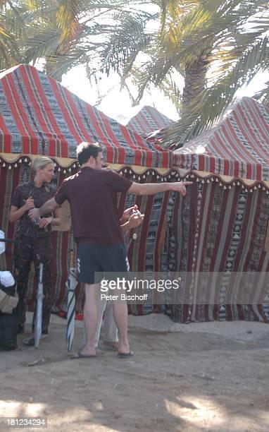 Tanja Wedhorn Lebensgefährte Simon Raiser Dreharbeiten der ZDFReihe Traumschiff Folge 49 Oman Muscat/Oman/Arabien Hotel Al Bustan Palace...