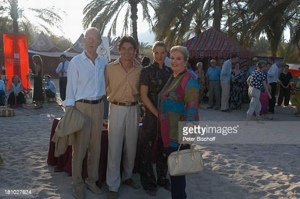 Hans Peter Korff Pascal Breuer Tanja Wedhorn Johanna von Koczian Dreharbeiten der ZDFReihe Traumschiff Folge 49 Oman Muscat/Oman/Arabien Hotel Al...