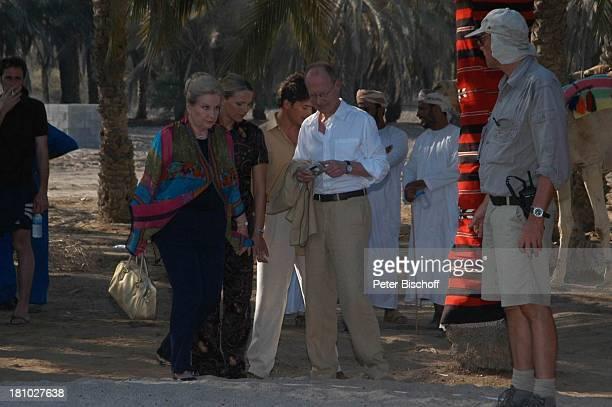 Johanna von Koczian Tanja Wedhorn Pascal Breuer Hans Peter Korff Drehteam Dreharbeiten der ZDFReihe Traumschiff Folge 49 Oman Muscat/Oman/Arabien...