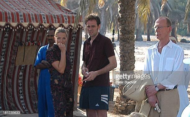 Tanja Wedhorn Lebensgefährte Simon Raiser Hans Peter Korff Dreharbeiten der ZDFReihe Traumschiff Folge 49 Oman Muscat/Oman/Arabien Hotel Al Bustan...