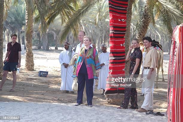 Johanna von Koczian Hans Peter Korff Tanja Wedhorn Pascal Breuer Simon Raiser Dreharbeiten der ZDFReihe Traumschiff Folge 49 Oman Muscat/Oman/Arabien...