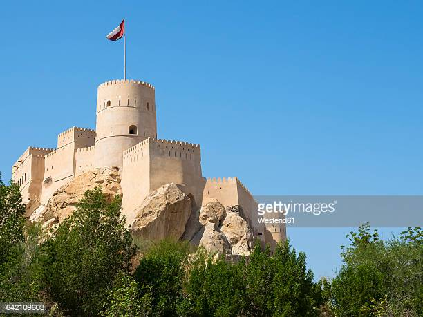 oman, nachl, fort nakhl - oman stock pictures, royalty-free photos & images