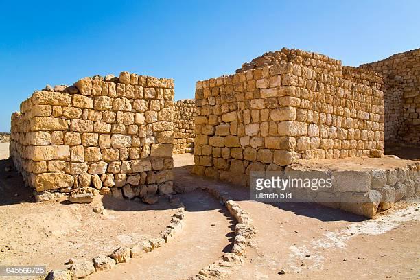 Oman, Sultanat Oman, Sumhurum, Sumhuram, Khor Rori, 2. Jahrhundert, an der Muendung des Wadi Darbat, Salalah, Dhofar, Antiker Hafen al-Baliid,...