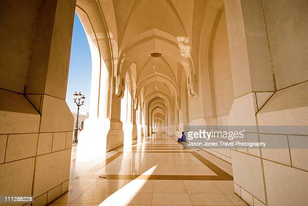 oman sultans palace muscat - palace stock pictures, royalty-free photos & images