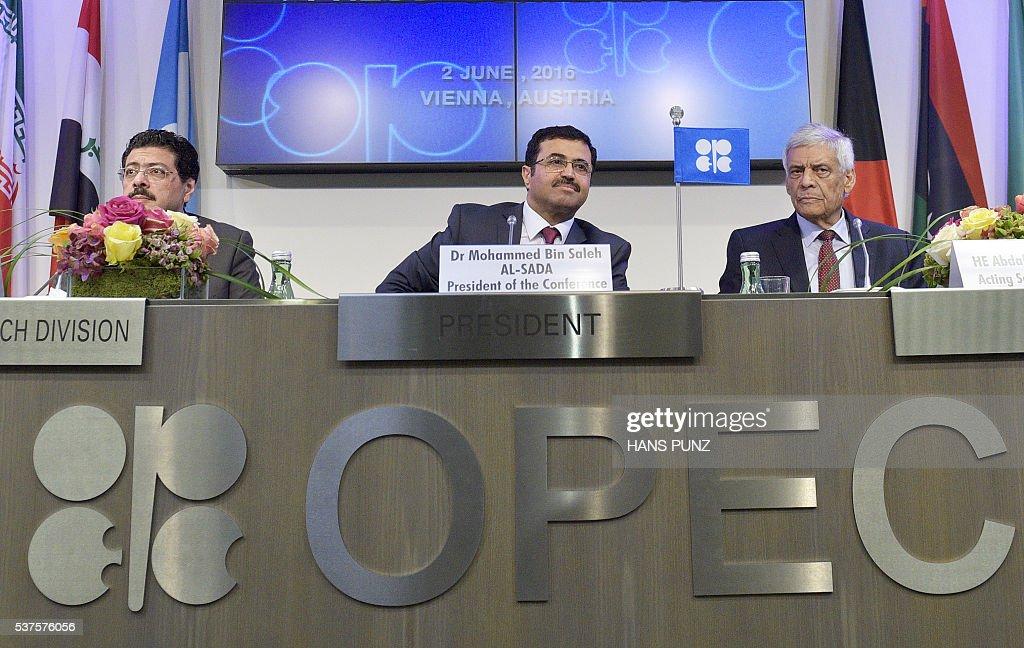 AUSTRIA-COMODITIES-OIL-OPEC : News Photo